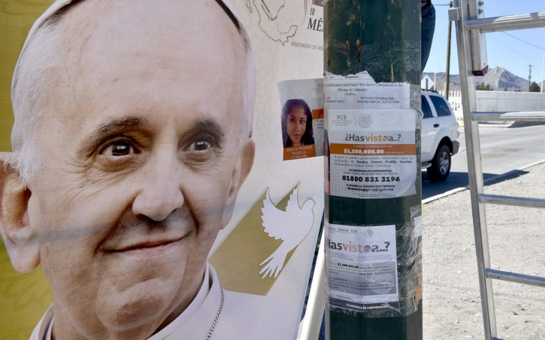 Mexican peasants and mothers of missing say diocese barring them from pope